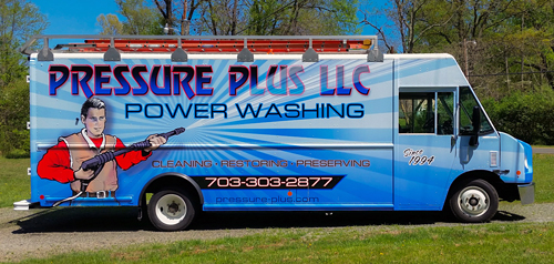 Pressure Plus pressure washing serving Northern Virginia